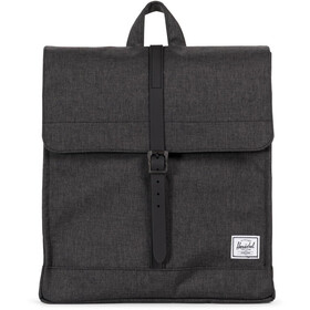 Herschel City Mid-Volume Plecak 14l, black crosshatch/black